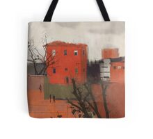 red house Tote Bag