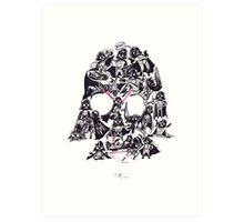 21 Darth Vaders Art Print
