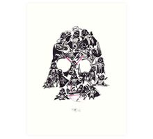 21 Darth Vaders Art Print
