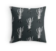 Grass root pattern design Throw Pillow
