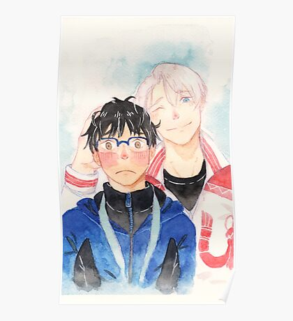 Yuri!!! On Ice Anime Poster