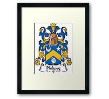 Philippe Coat of Arms I (French) Framed Print