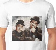 Laurel and Hardy Hollywood Legends Unisex T-Shirt