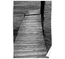 Dock to Nowhere 2 BW Poster