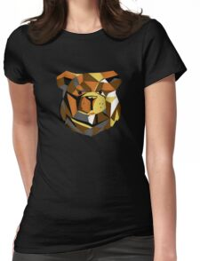 Robust bear cyber Womens Fitted T-Shirt