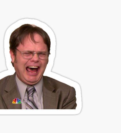Dwight Schrute Screaming Sticker
