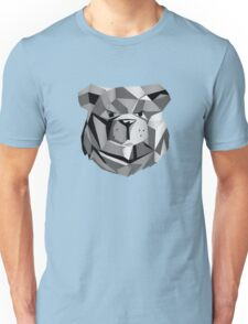 ROBUST Bear Robot Black Unisex T-Shirt