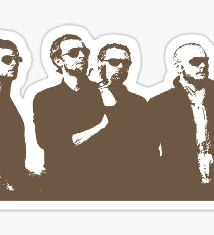 Coldplay Sticker