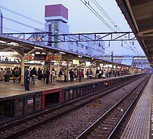 Station – Japanese Trains Photographic Print