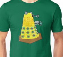 Green Olive Pizza Dalek Unisex T-Shirt