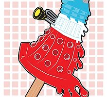 Rocket Pop Dalek 2 by NikoTrash