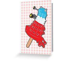Rocket Pop Dalek 2 Greeting Card