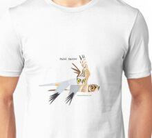 Pallid Harrier caricature Unisex T-Shirt