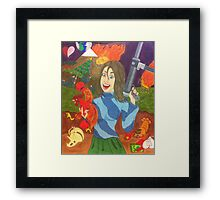 Seriously, wtf? Framed Print