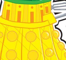 Pineapple Dalek Sticker