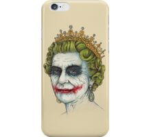 God Save the Villain iPhone Case/Skin