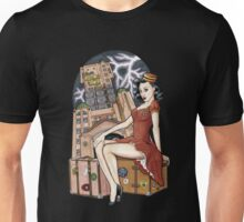 Tower of Terror Pinup Unisex T-Shirt