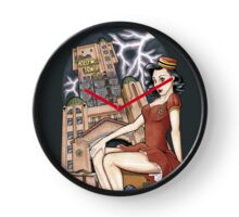 Tower of Terror Pinup Clock