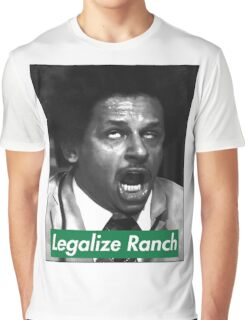 Eric Andre - Legalize Ranch - Green Graphic T-Shirt