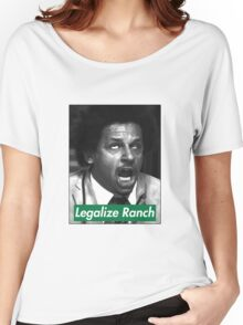 Eric Andre - Legalize Ranch - Green Women's Relaxed Fit T-Shirt