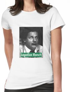 Eric Andre - Legalize Ranch - Green Womens Fitted T-Shirt