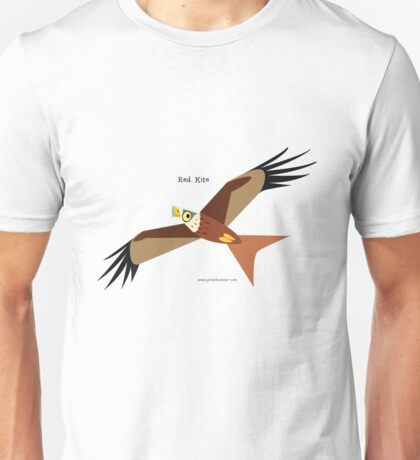 Red Kite caricature Unisex T-Shirt