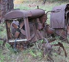 Tractor Graveyard by Stuart Daddow Photography