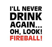 Oh Look! Fireball! Photographic Print