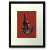 Penny Farthing option  Framed Print