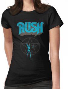 Rush Starman 2112 Logo Womens Fitted T-Shirt