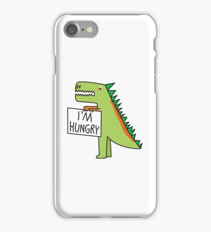 Hungry Dinosaur iPhone Case/Skin