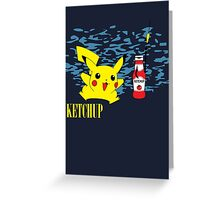 Nevermind Pikachu Greeting Card