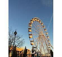 Trafford Centre At Christmas Photographic Print