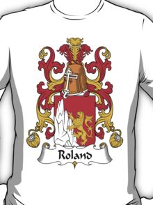 Roland Coat of Arms (French) T-Shirt