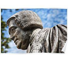 Joseph Goodall Statue Poster