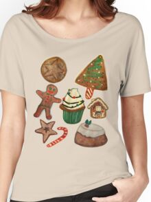 Christmas goodies Women's Relaxed Fit T-Shirt