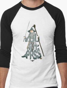 Gandalf The Grey You Shall Not Pass Men's Baseball ¾ T-Shirt