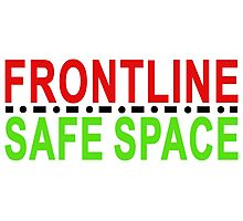frontline or safe space Photographic Print