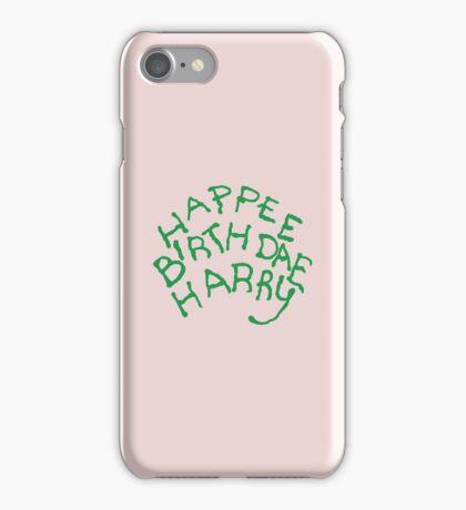 Happee Birthdae Harry iPhone Case/Skin