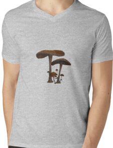 Mushrooms Mens V-Neck T-Shirt