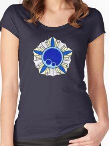 Vaporeon Badge Women's Fitted Scoop T-Shirt