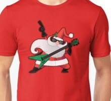 Rock Star Santa Claus Unisex T-Shirt