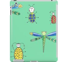 Insect pattern iPad Case/Skin