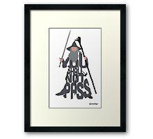 Gandalf The Grey Framed Print