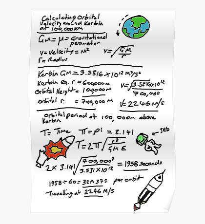 Kerbal Orbit Science 1 Poster