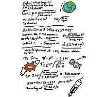 Kerbal Orbit Science 1 Photographic Print