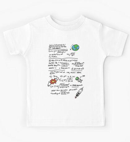 Kerbal Orbit Science 1 Kids Tee