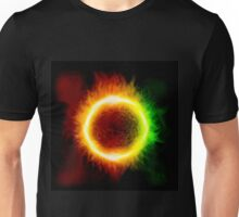 Space background with a star Unisex T-Shirt