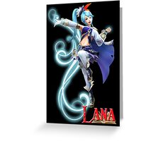 Lana - Hyrule Warriors Greeting Card