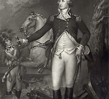 George Washington on the Battlefield by Vintage Works